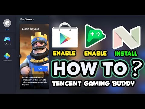 How To Login Google Play Account In Tencent Gaming Buddy Now Use