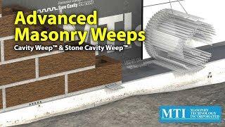 Advanced Masonry Weeps - MTI Cavity Weep & Stone Cavity Weep
