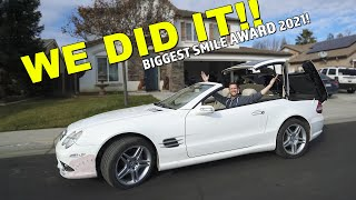 the SL550 is FIXED! (Activating TRANSFORMER Mode)