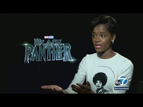 Meet 'Black Panther's' breakout star Letitia Wright | ABC7