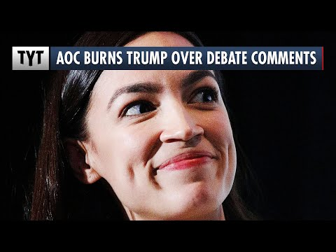"AOC's PERFECT Response to Trump's ""AOC+3"" Debate Moment"