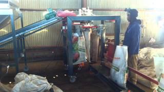 Compost Bagging Machine