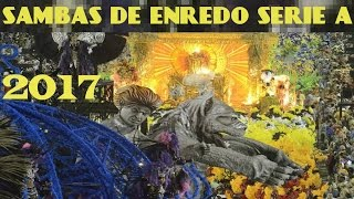 Sambas Enredo 2017 Serie A Rio de Janeiro