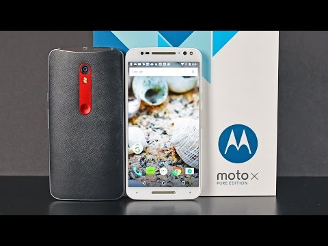 Moto X Pure Edition: Unboxing & Review