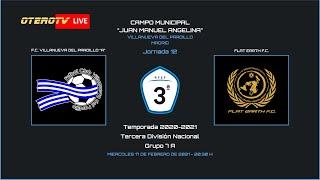 R.F.F.M - TERCERA DIVISIÓN NACIONAL - Jornada 12 (Grupo 7A) - F.C. Villanueva del Pardillo 1-0 Flat Earth F.C.