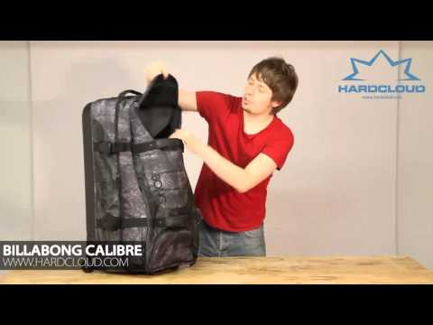 Billabong Calibre travel split roller luggage review
