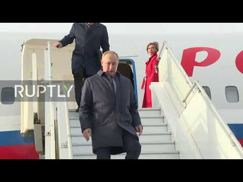France: Putin arrives in Paris for 'Normandy Four' summit