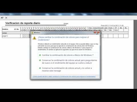como realizar reportes en zksoftware