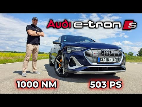 AUDI etron-S: TUNING fürs Elektroauto - TOTE EMOTIONEN?
