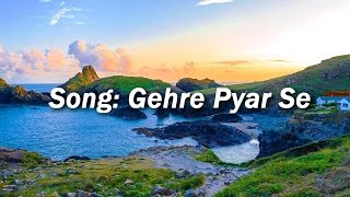 Gehre Pyar Se Tune Pyar Kiya(Lyrics) Hindi   - YouTube
