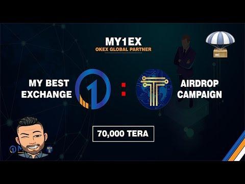 Exchange My1ex fazendo airdrop de $6 dólares , JÁ LISTADO !