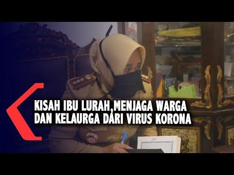 kisah ibu lurah di parepare menjaga warga dan kelaurga dari virus korona