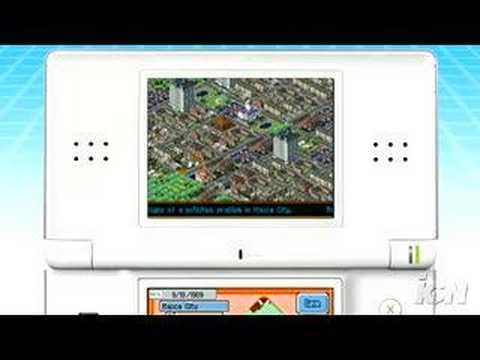 Видео № 0 из игры SimCity DS (Б/У) (без коробочки) [DS]