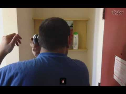Haircut Over IP ! (Skype+ iPhone 4s+ Philips QC5170)