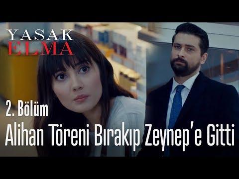 Alihan, töreni bırakıp Zeynep'in yanına gitti - Yasak Elma 2. Bölüm