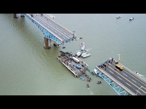 10 Biggest Bridge Collapses Ever