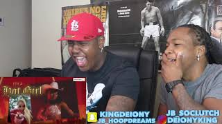 SHE'S ON TOP 🗣👸🏽🔥🔥 Megan Thee Stallion - Girls in the Hood [Lyric Video] (REACTION!!)