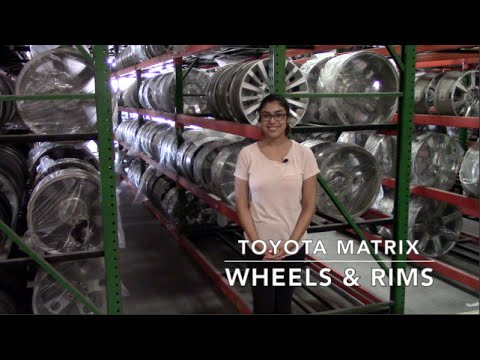 Factory Original Toyota Matrix Wheels & Toyota Matrix Rims – OriginalWheels.com