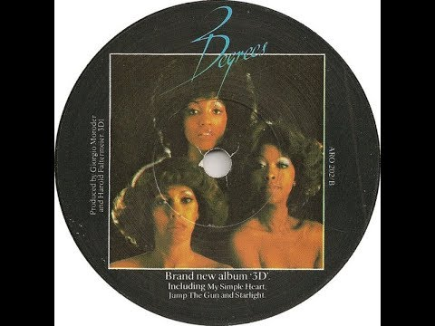 The Three Degrees - My Simple Heart [Unreleased Long Version]