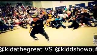 KidaTheGreat v.s KiddShowOut (DANCE BATTLE)