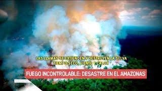 INCENDIO EN EL AMAZONAS: Las consecuencias del desastre