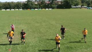 Rugby Drills – Passing – 3v2 Draw and Pass