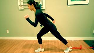 Low Back Strain: Running Rehab Knee Highs