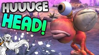 "Spore Modded Gameplay - ""I GOT A HUUUGE HEAD!!!"" Walkthrough Let"