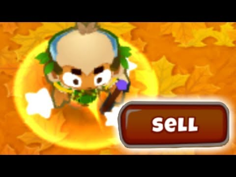 Bloons TD 6 But I Have To Sell EVERYTHING After Each Round