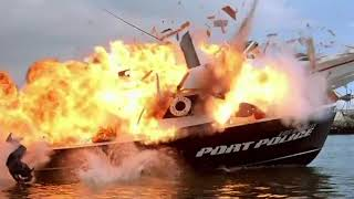 Speedboat Scene | FACEOFF (1997)