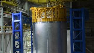 Done in 60 seconds: See a Massive Rocket Fuel Tank Built in A Minute