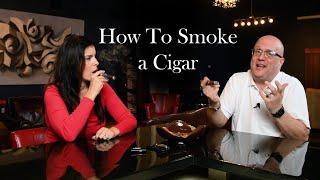 How to Smoke a Cigar