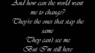 Goo Goo Dolls - I'm still here, lyrics