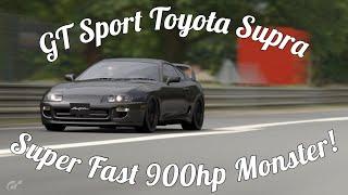 GT Sport Toyota Supra Gameplay! 903hp!