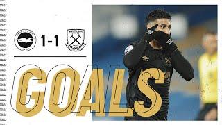 Brighton 1-1 West Ham Pekan 36