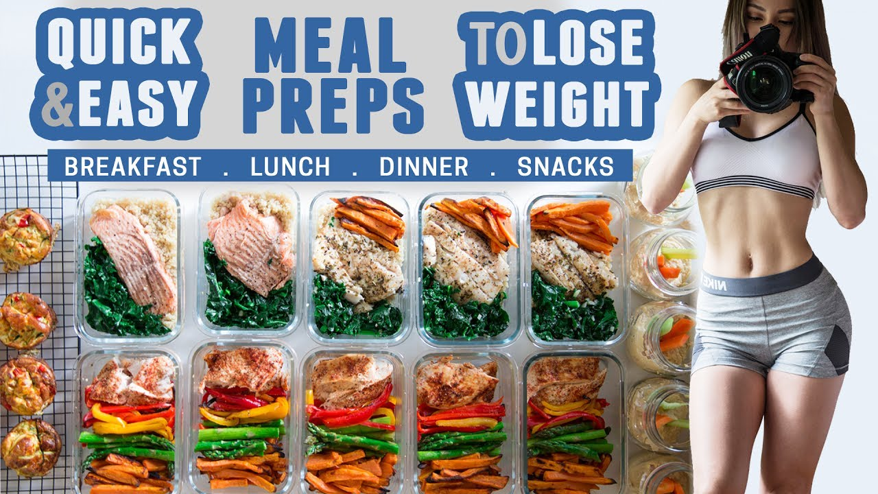 How I Meal Prep Quick Easy Healthy Recipes To Lose Weight