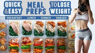 How I Meal Prep | Quick & Easy | Healthy Recipes To Lose Weight