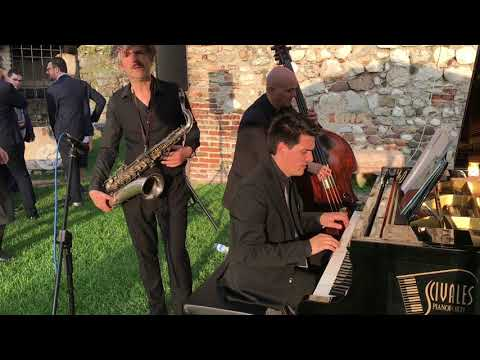 Ricca Sax Trio Trio Sax Piano Contrabbasso Brescia musiqua.it