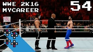 WWE 2K16 MyCareer Part 54: Sting Or Triple H?! Who Is The Mystery Rival?! — UpUpDownDown Streams