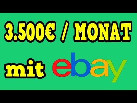 3.500 EURO IM MONAT MIT EBAY VERDIENEN (Online Geld verdienen) 💰💸