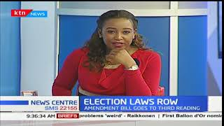 Election Laws Row: Raila's move on presidential race withdrawal