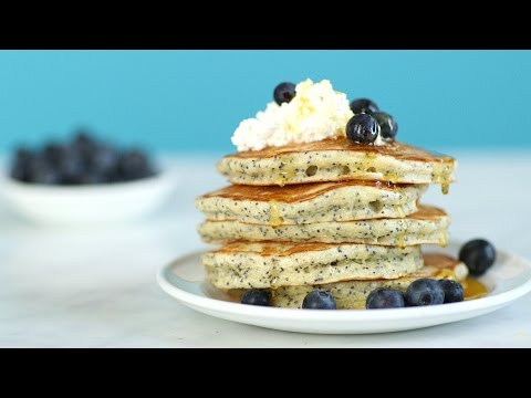 Lemon-Poppy Seed Cloud Pancakes – Everyday Food with Sarah Carey