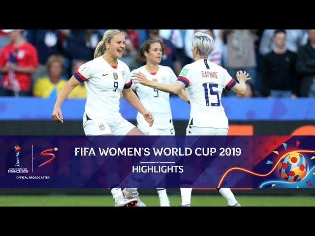 FIFA Women's World Cup | Sweden vs USA | Highlights