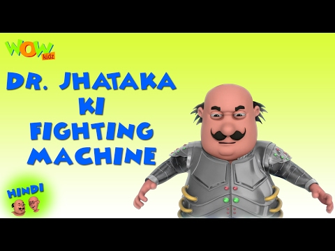 Dr.Jhatka Ki Fighting Machine -Motu Patlu in Hindi -3D Animation Cartoon for Kids -As on Nickelodeon