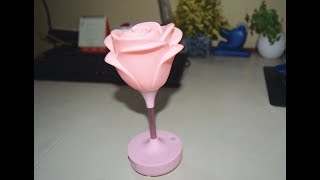 Romance lamp or Roes Lamp Review. Very Cool Gadget for Romantic Couple
