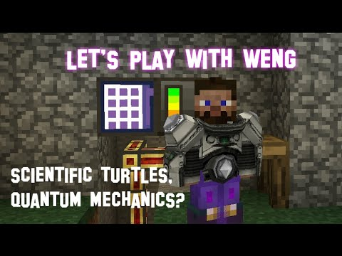 MineCraft | CrackPack | E17 | Intelligent Turtles and Applied Energistics