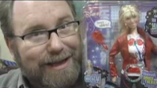 Fail Toy Hannah Montana Miley Cyrus Doll Review Mike Mozart JeepersMedia