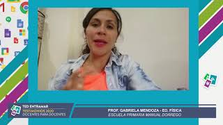 Prof  Gabriela Mendoza, Escuela Manuel Dorrego