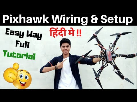 how-to-make-drone--pixhawk-flight-controller-setup-and-wiring--drone-kaise-banaye--at-home