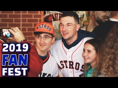 GIANT JENGA, Q&A, FORTNITE   2019 Houston Astros Fan Fest